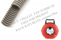 Order pallet of corrugated conduit FXP - TURBO 20 - take a present rack Kati® Blitz compact Plus