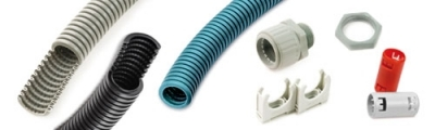 Pliable conduits and accessories
